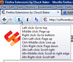 Back to Top Firefox Extension